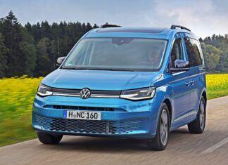 Nowy Volkswagen Caddy – teraz także z napędem 4Motion