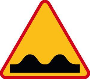 Znak ostrzegawczy A-11