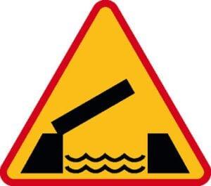 Znak ostrzegawczy A-13