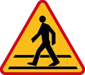 Znak ostrzegawczy A-16