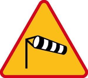 Znak ostrzegawczy A-19