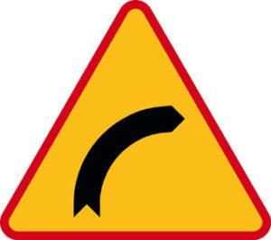 Znak ostrzegawczy A-1