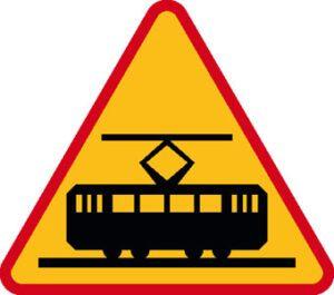 Znak ostrzegawczy A-21