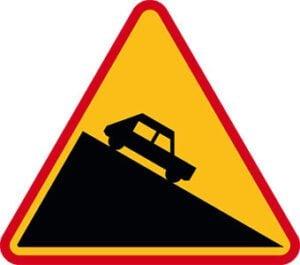 Znak ostrzegawczy A-22