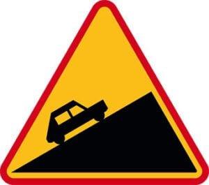 Znak ostrzegawczy A-23