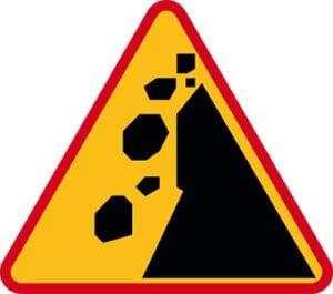 Znak ostrzegawczy A-25