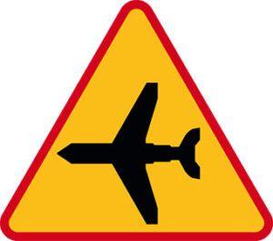Znak ostrzegawczy A-26