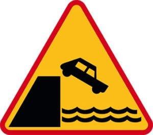 Znak ostrzegawczy A-27