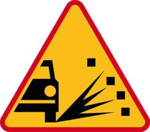 Znak ostrzegawczy A-28