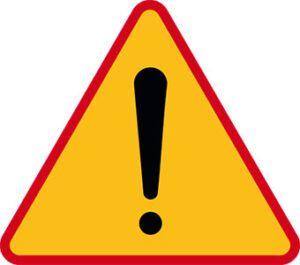 Znak ostrzegawczy A-30