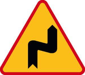 Znak ostrzegawczy A-3