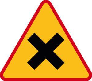 Znak ostrzegawczy A-5