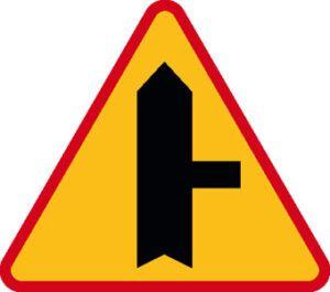 Znak ostrzegawczy A-6b