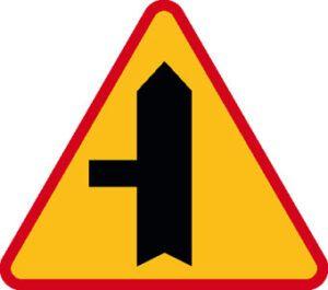 Znak ostrzegawczy A-6c