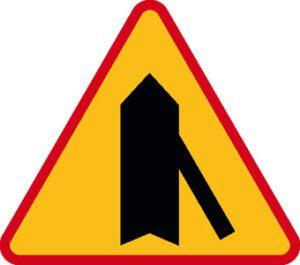 Znak ostrzegawczy A-6d