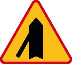 Znak ostrzegawczy A-6e