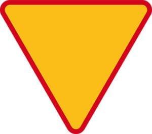 Znak ostrzegawczy A-7