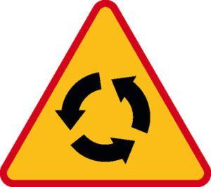 Znak ostrzegawczy A-8