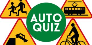 Auto Quiz 14 Znaki ostrzegawcze