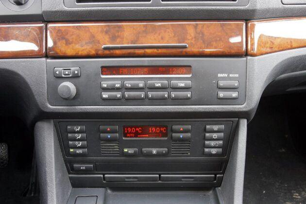 BMW serii 5 E39 klimatyzacja