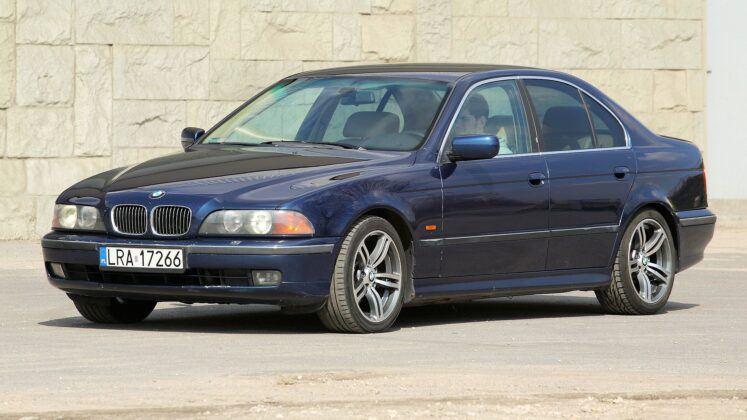 BMW serii 5 (E39) model przed liftingiem
