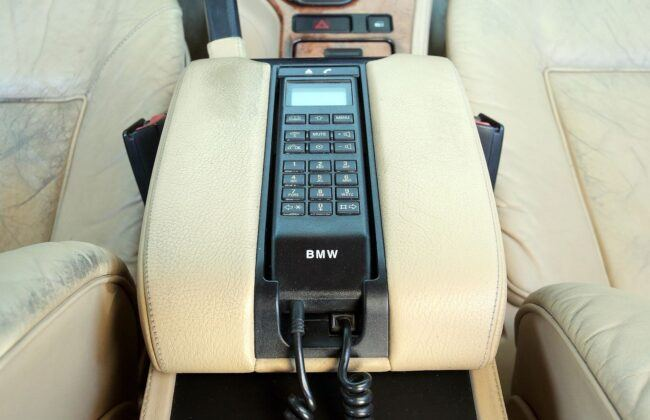 BMW serii 5 E39 telefon