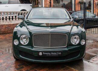 """Królewski Bentley """"pod młotek"""". Jego przebieg zaskakuje!"""