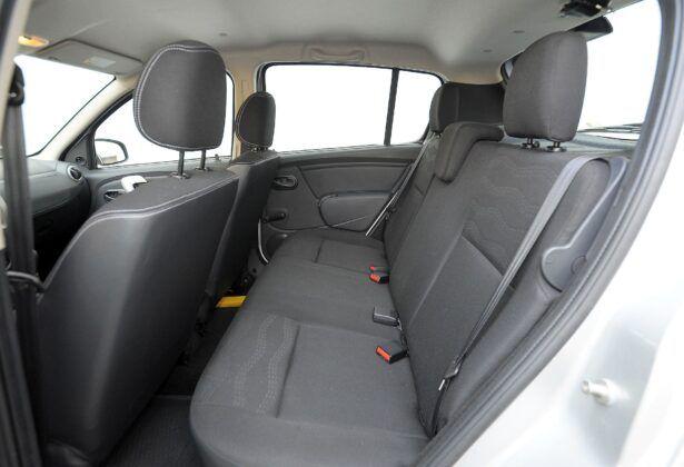 Dacia Sandero I kanapa