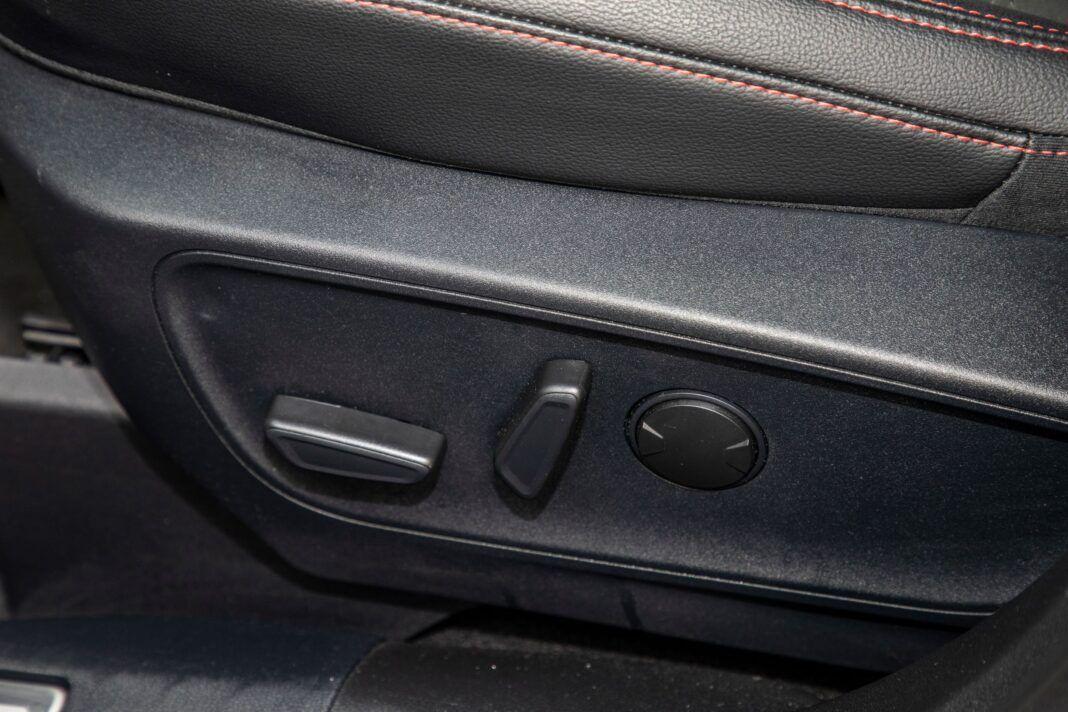 Ford Kuga - sterowanie fotela