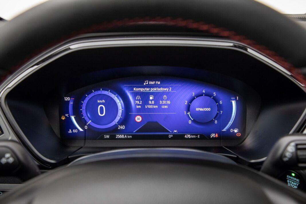 Ford Kuga - wskaźniki