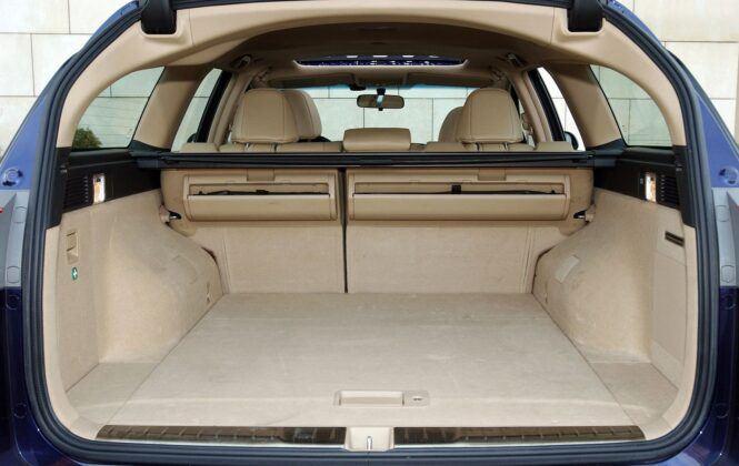 Honda Accord VII bagażnik