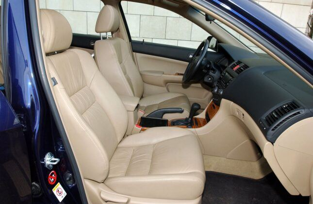 Honda Accord VII fotel pasażera
