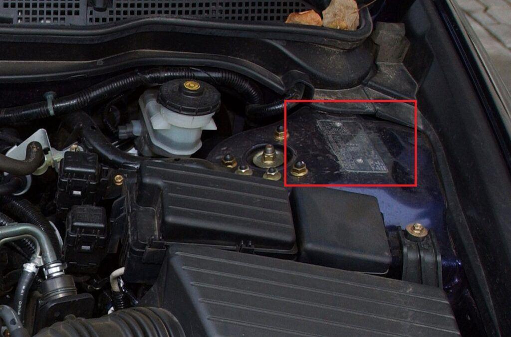 Honda Accord VII numer VIN