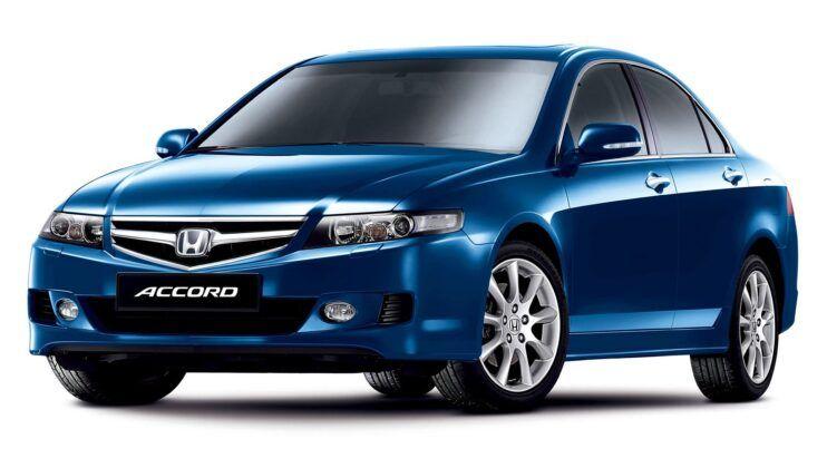 Honda Accord VII po liftingu