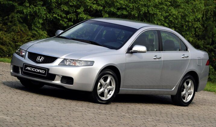 Honda Accord VII przed liftingiem