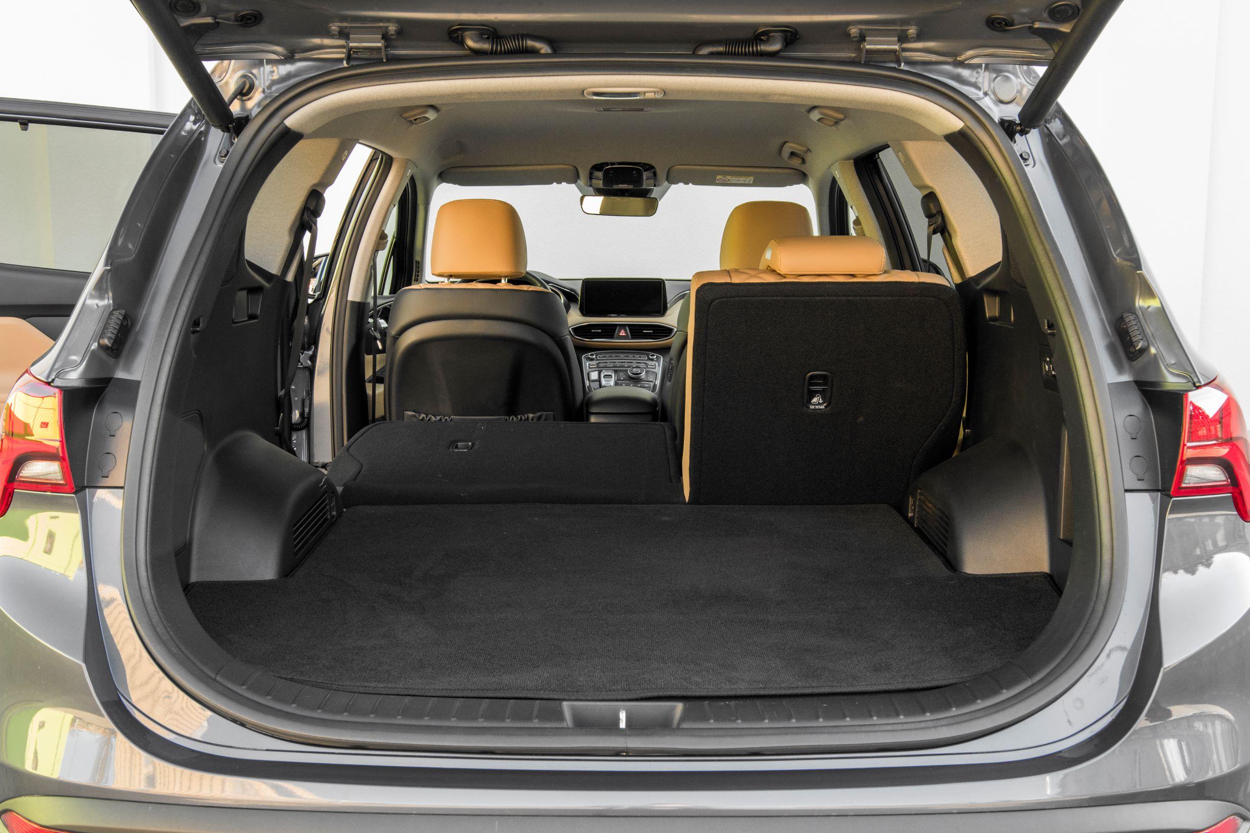 Hyundai Santa Fe - bagażnik