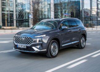 Hyundai Santa Fe 1.6 T-GDI HEV - TEST
