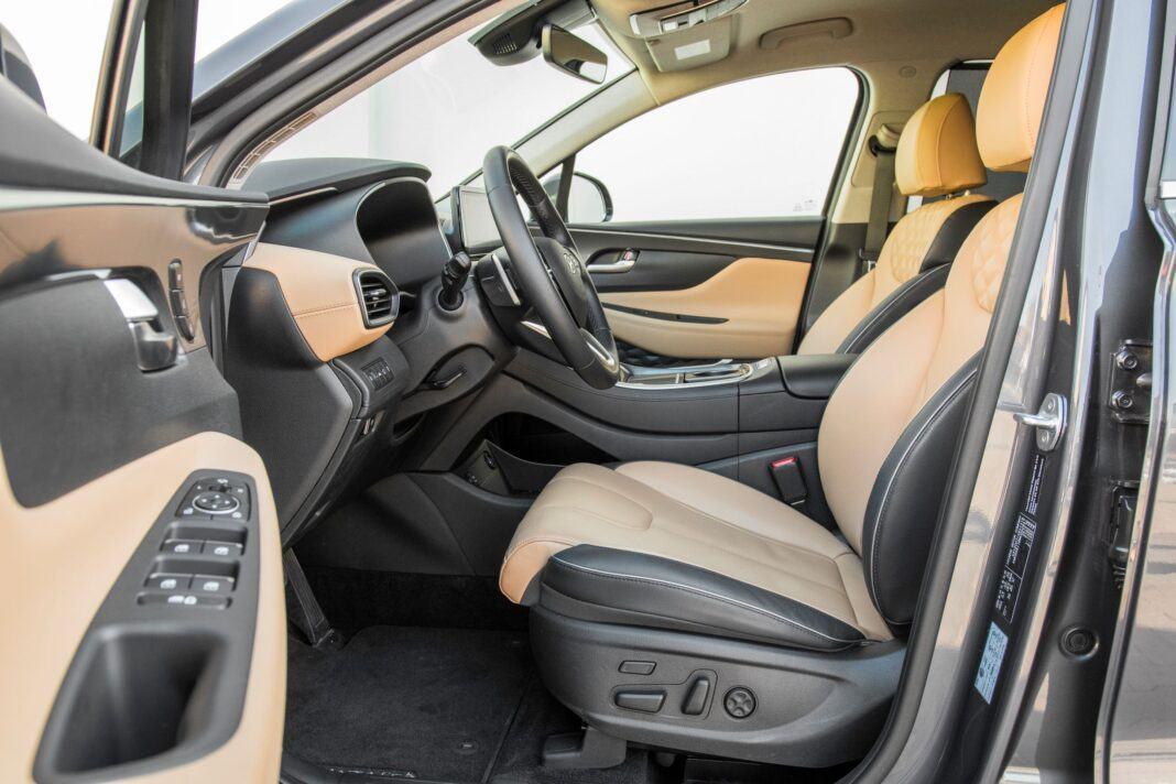 Hyundai Santa Fe - fotele