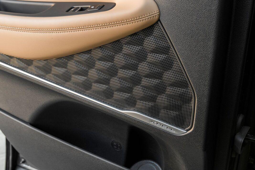 Hyundai Santa Fe - głośnik