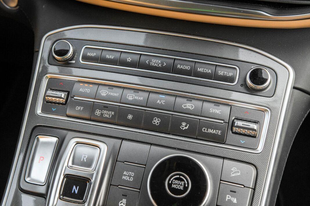 Hyundai Santa Fe - klimatyzacja