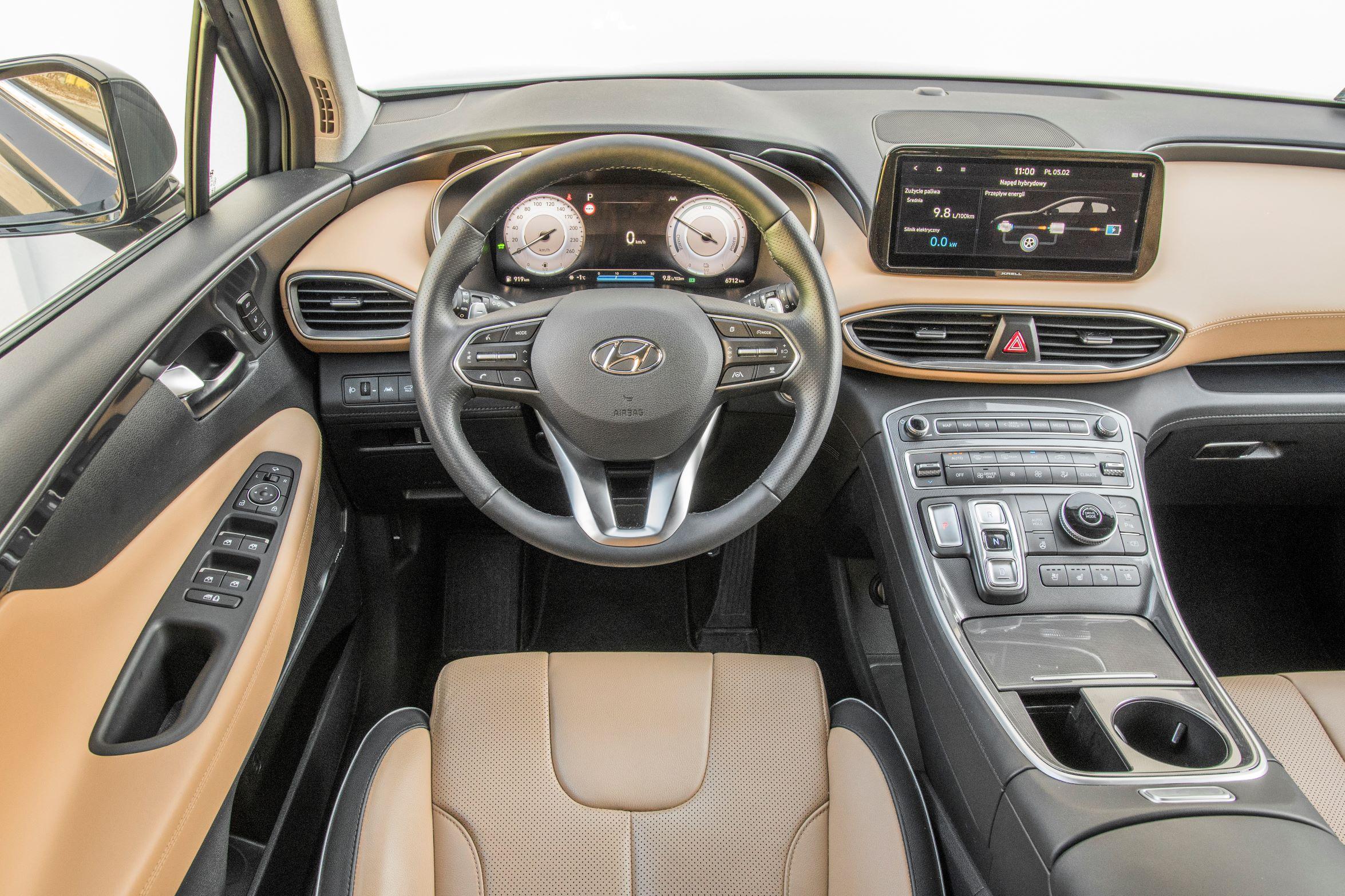 Hyundai Santa Fe - kokpit