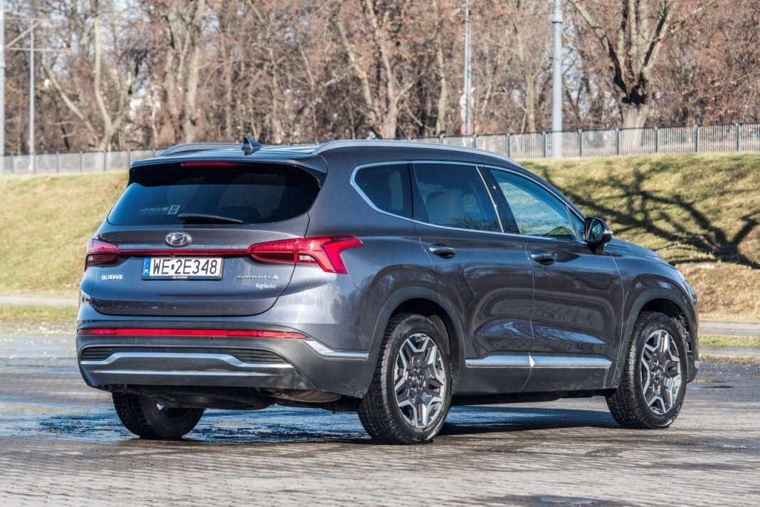 Hyundai Santa Fe - prawy tył