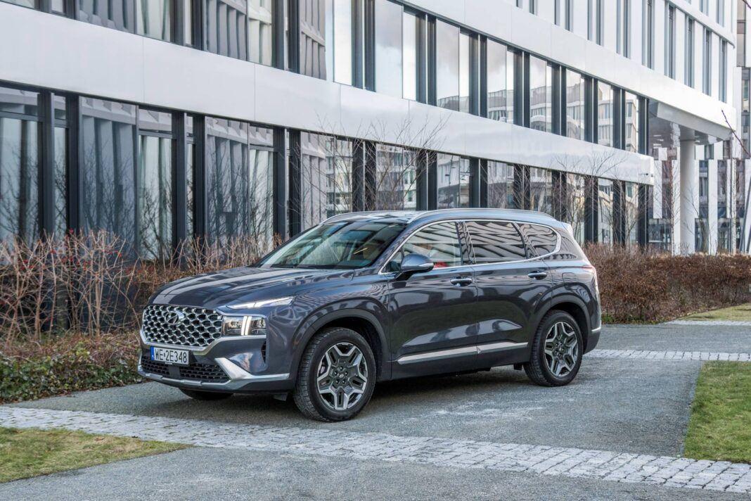 Hyundai Santa Fe - przód lewy