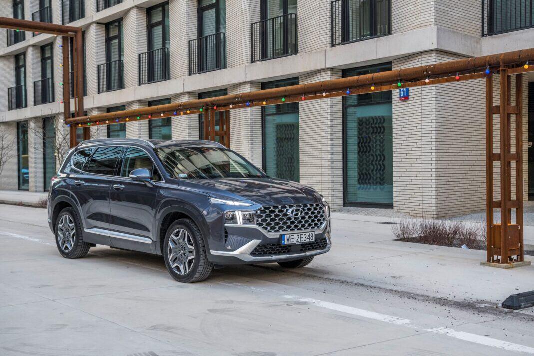 Hyundai Santa Fe - przód prawy