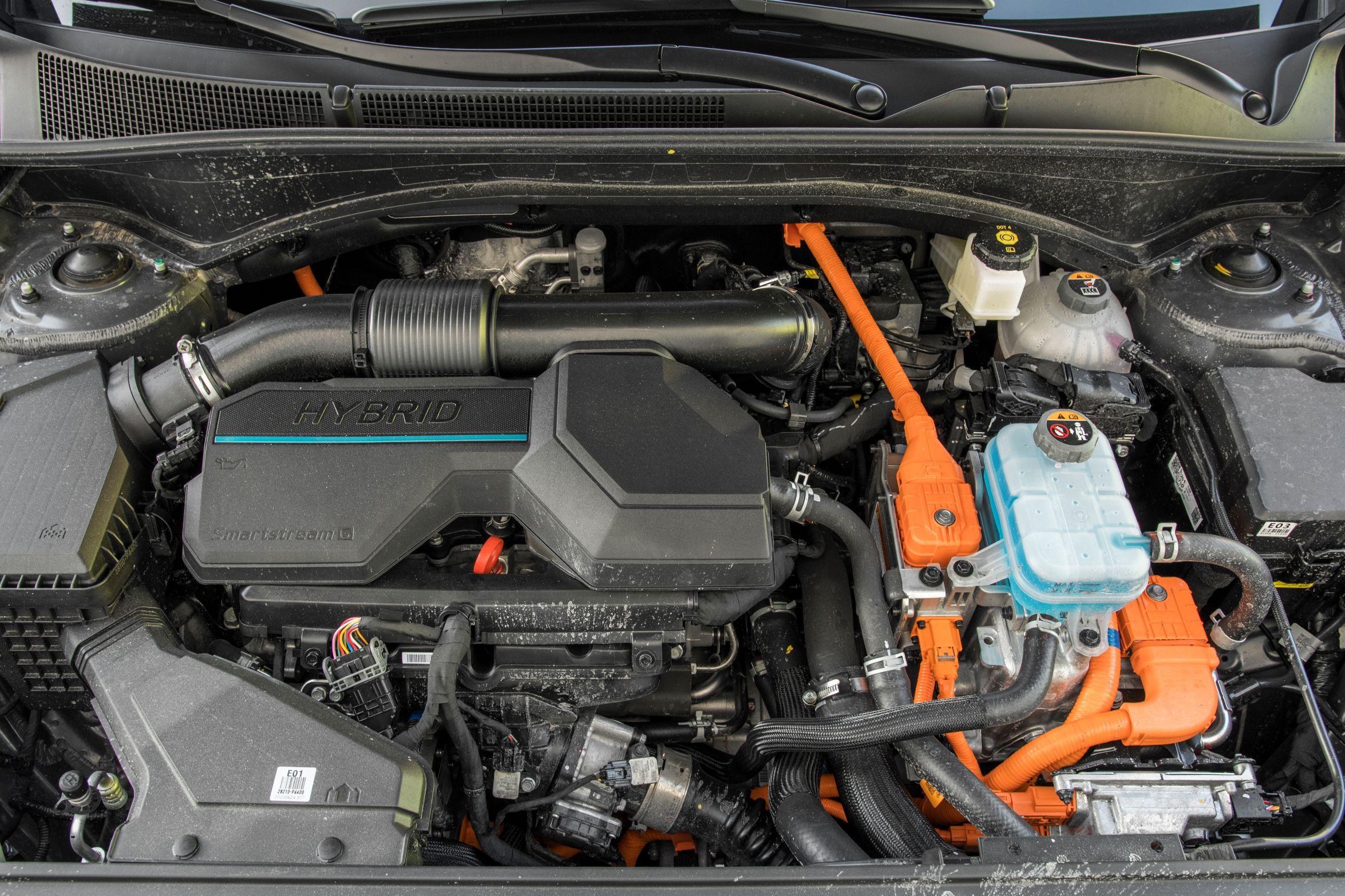 Hyundai Santa Fe - silnik