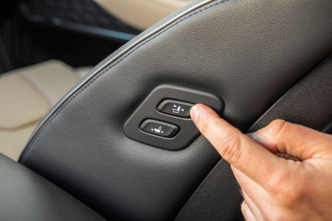 Hyundai Santa Fe - sterowanie fotelem