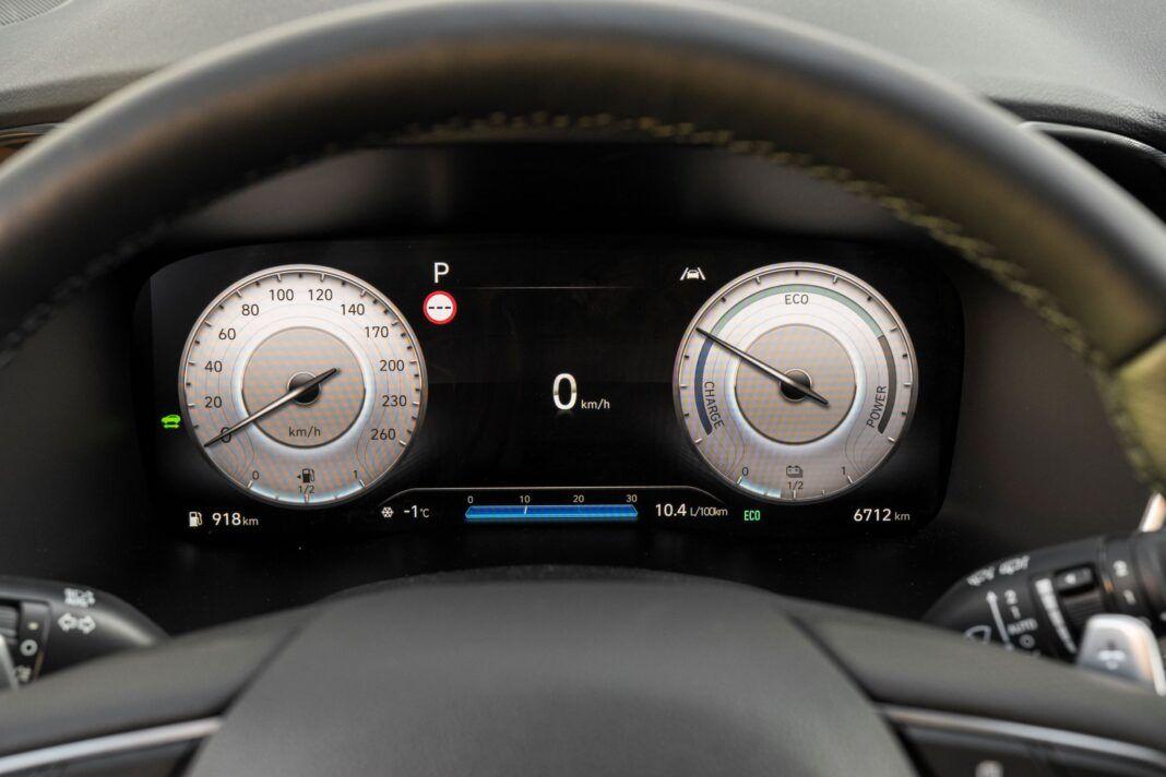Hyundai Santa Fe - zegary