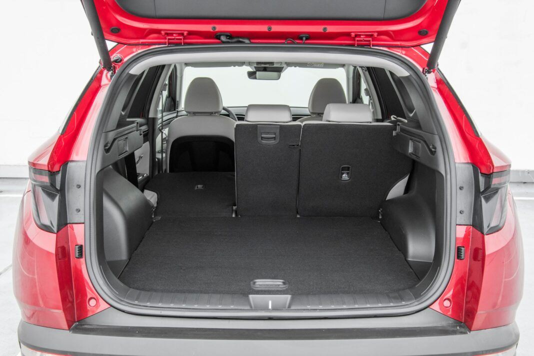 Hyundai Tucson - bagaznik