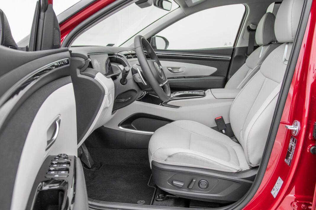 Hyundai Tucson - fotele