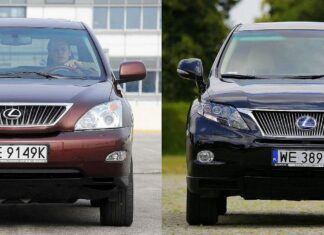 Używany Lexus RX II i Lexus RX III - którą generację wybrać?